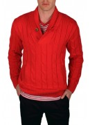 RED COTTON JUMPER