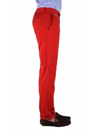 FINEST PORTUGUESE TWILL RED CHINOS