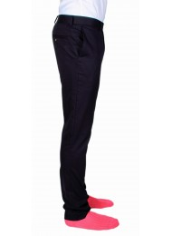 SUPER SOFT COTTON NAVY TROUSERS