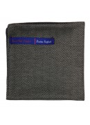 HAND MADE IN ENGLAND COTTON POCKET SQUARE