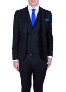 ULTRA-SOFT SUPER 130's NAVY WOOL SUIT JACKET