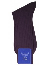 COTTON PURPLE SOCKS