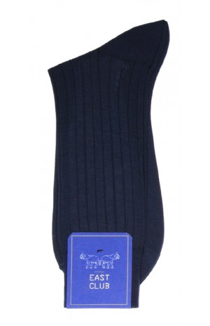 COTTON DARK BLUE SOCKS