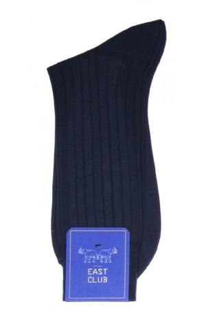 COTTON DARK BLUE SOCKS