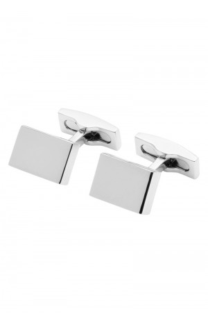 FLAT RECTANGULAR CUFFLINKS