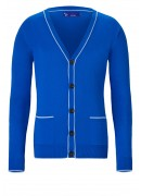 SUPER SOFT COTTON ROYAL BLUE CARDIGAN