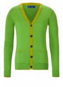 SUPER SOFT COTTON GREEN CARDIGAN