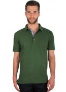 SUPER SOFT COTTON OLIVE POLO