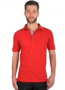 SUPER SOFT RED POLO