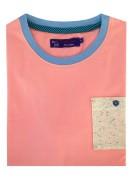 COTTON PINK ROUND NECK T-SHIRT