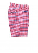 OXFORD RED, WHITE AND BLUE CHECKED SHORTS