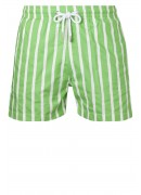 PORTUGUESE GREEN AND WHITE SWIMMING SHORTS