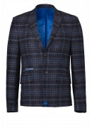 ITALIAN WOOL BLEND TWEED JACKET